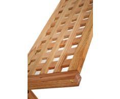 TS-Ideen - Scaffale in noce massello, larghezza 63 cm, adatto a bagno, sauna, corridoio, cucina, stanze