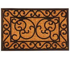 Esschert Design Zerbino Rettangolare in Gomma, 58.80 x 30.20 cm