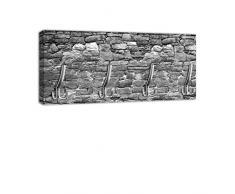 Appendiabiti con Design grigio colore pietra attaccapanni appendiabiti da parete muro maniglia, DG034