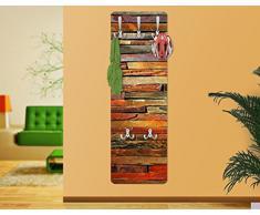 Appendiabiti - Stack of Plants 139x46x2cm, appendiabiti a muro, appendiabiti da muro, appendiabiti da parete, appendiabiti design