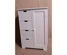 Corridoio armadio da bagno armadio comò 4 cassetti/armadio cassetto