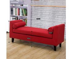 Letto sgabello / camera da letto divano a panca / sgabello cambiare le scarpe / panno sgabello / (4 colori facoltativi) ( colore : D )
