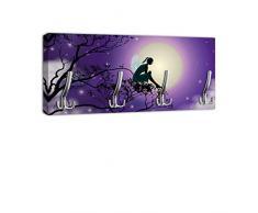Appendiabiti con Design elfo luna maniglia, attaccapanni appendiabiti da parete DG194