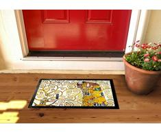 1art1 Gustav Klimt - L'Abbraccio (Dettaglio) Zerbino (60 x 40cm)
