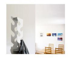 J-ME Appendiabiti da ingresso, Nero (Schwarz), 60 x 16,5 x 8,7 cm