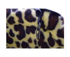 Fuudear Casa Portatile for Animali Domestici con portacappelli da Gatto in Stile Leopardo Caldo Viaggi all'aperto con Comodo Colore Portatile for caffè - 3 Dimensioni (Dimensione : M)