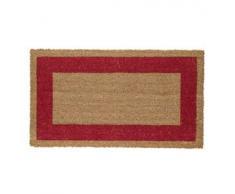 VELCOC zerbino cocco c/fondo in vinile 60x100cm rosso velcoc