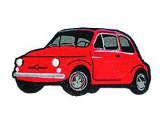 Fiat 500 FIDM02 Zerbino, Legno_Composito, Rosso, 80x40x2 cm