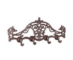 4 Ganci Moritz nostalgia piccolo appendiabiti antico gancio appendino barocco ornamenti