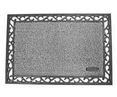 AstroTurf Utopia Mamut Zerbino per Ingresso da Esterno, Gomma e Polietilene, Grigio Chiaro, 90 x 60 x 2.5 cm