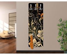 Appendiabiti Design - Zarte Ranken, Dimensione:139cm x 46cm