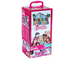 Theo Klein Schrankkoffer Barbie Valigia Armadio con Attaccapanni, Giocattolo, Multicolore, 5801