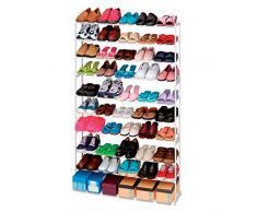 Scarpiera shoes rack amazing 50 paia nuovo salvaspazio organizer ripostiglio. MWS