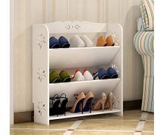 Semplice e moderno sottile multistrato semplice scarpa scarpiera scolpito continentale ( Colore : #1 )