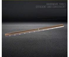 Lampada guardaroba La barra luminosa del sensore di movimento ha condotto l'armadio appendiabiti ha condotto l'appendiabiti fisso intelligente lampada a induzione del corpo umano (Color : 60?long)