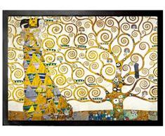 Set: 1 Zerbino (70x50 cm) + 1 Tappetino per Mouse (23x19 cm) - Gustav Klimt, L'Attesa, 1905-1909 (Dettaglio)