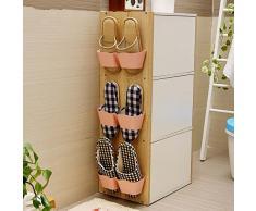 3pcs scarpiera metallo Mensola Montato Porta scarpe gancio appeso Organizzatore Scaffalature di stoccaggio