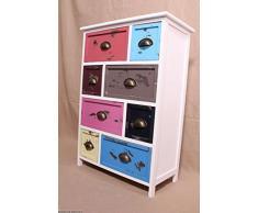 Credenza cassettiera di Cassetti Colorati Corridoio armadio/comodino