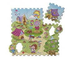 Chicco 7164 - Tappeto Puzzle Caramelle