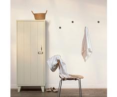 Walplus 5.5 cm x 3.2 cm NUOVO GANCIO cappotto gancio da parete DECORAZIONI ADESIVE decorazione casa VIVENTE ufficio camera da letto decorazione fai-da-te, Oro