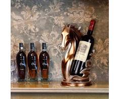 Arredi per la casa Arredi per la casa Arredi per la casa Entrata Armadio per TV Soggiorno Cavallino creativo Cavalletti per vino Arredamento per la casa GAOLILI ( Colore : A )