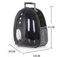 LXRZLS Borsa da Viaggio con portacappelli da Astronauta per Cani e Gatti - Capsula Spaziale - Adottante in PVC Ecologico Materiale Impermeabile Traspirante