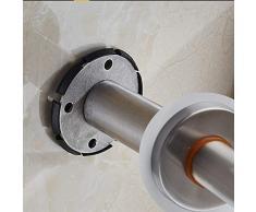 Rotaie del telaio di sicurezza della toilette, struttura di sicurezza per i portacappelli dell'acciaio inossidabile della toilette Barra dell'equilibrio della stanza da bagno del bagno, ferrovia di me