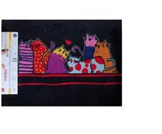 Design ZERBINO Zerbino - zerbino ZERBINO treifer Zerbino sporco tappetino Zerbino porta piede Tütmatte sporco ZERBINO cattura sporco stuoiasopra robusta ZERBINO con gatti/modello Zerbino gatto/lavabile ZERBINO/corsa piacevole