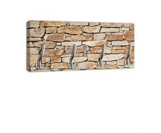 Appendiabiti con Design chiaro pietra naturale maniglia, attaccapanni appendiabiti da parete DG310