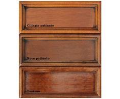 Pannello appendiabiti in legno 3 elementi