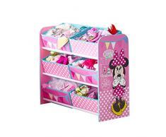 Disney Minnie Mouse-Mobiletto da HelloHome per bambini, in legno, colore: rosa, 63,5 x 30 x 60 cm