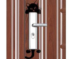 tongshi Nuovo gatto adesivi murali Luce Interruttore Decor Art Stickers murale scuola materna del bambino in camera