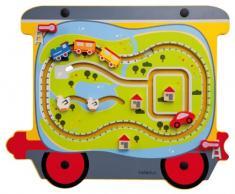 Hape 23643 - Gioco da Parete Treno/Viaggio