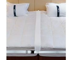 Bulary Bed Bridge Twin To King Kit Convertitore Riempitore di Spazio Letto per Trasformare Letti Gemelli nel Connettore del Materasso Connettore del Materasso per Gli Ospiti, Connettore del Letto