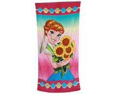 Disney Frozen - Il regno di ghiaccio Ragazze Asciugamano da spiaggia - fucsia -