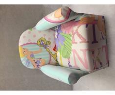 Inspire Homes - Poltroncina per bambini, motivo: Campanellino, personaggio Disney