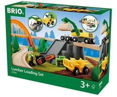 Brio Gmbh 33789 - Gioco Per Bambini Ferrovia Tagliaboschi