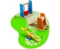 Hape Beleduc E3461 Prima infanzia ARREDAMENTO CASA BAMBOLE PARCO GIOCHI playground legno