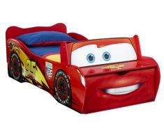 Worlds Apart Disney Cars letto Junior metallo e plastica, rosso, 170 x 77 x 54 cm