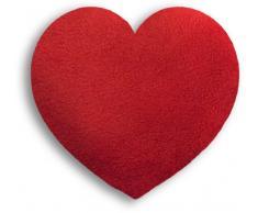 Leschi calore cuscino/36851/cuore/Klein (cuscino termico per bambini e neonati) colore: Fuoco