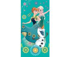 Asciugamano di bagno Frozen La Regina delle Nevi Green Disney cotone
