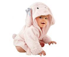 URAQT Bambini Teli da bagno Con Cappuccio,Coperta Morbida Flanella di Balneazione Wrap