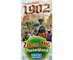 Days of Wonder 841762 - Avventure in Treno, espansione per Gioco Deutschland 1902 [Lingua Tedesca]