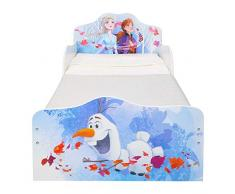 Disney Lettino per Bambini con Contenitore sottoletto, Single