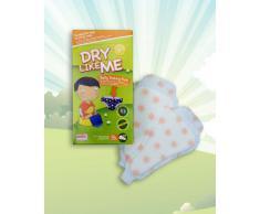 Dry Like Me, Tampone formazione per imparare ad usare il vasino, 4 confezioni da 18 pz. (72 in totale)