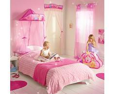 Ready Room 284DPI Baldacchino per Letto, MDF, Rosa, 155x75x55 cm