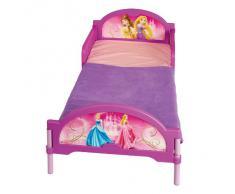 Worlds Apart (WAP) 455DYR01E Disney Princess Lettino per Bambina, Plastica e Metallo, Rosa