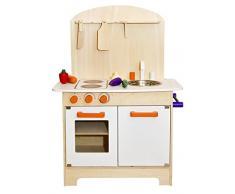 Bianca cucina per bambini cucina gioco cucina legno cucina bambini giocattolo da cucina in legno da cucina con accessori