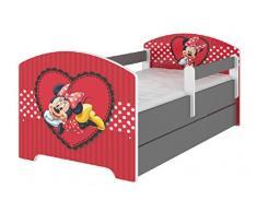 Bellissimo lettino per bambini della Collezione Disney Minni