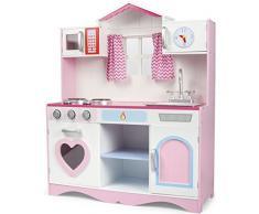 Cucina Rosa Giocattolo Per Bambini Gioco In Legno Giocare Dimitazione Accessori Per Cucina Pink Play Kitchen Dimensioni 82x30x101
